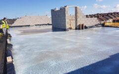 penthouse screed